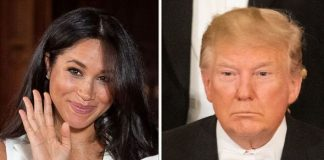 Meghan Markle and Donald Trump Image Getty