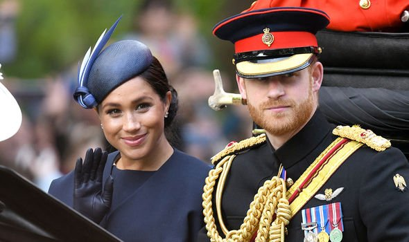 Meghan Markle and Harry broke away from the charity they oversaw with Kate and William Image GETTY
