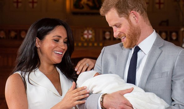 Meghan Markle and Harry moved to Windsor shortly before the birth of their son Archie Image GETTY