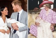 Meghan Markle and Harrys baby is set to have a traditional royal christening says expert Image GETTY