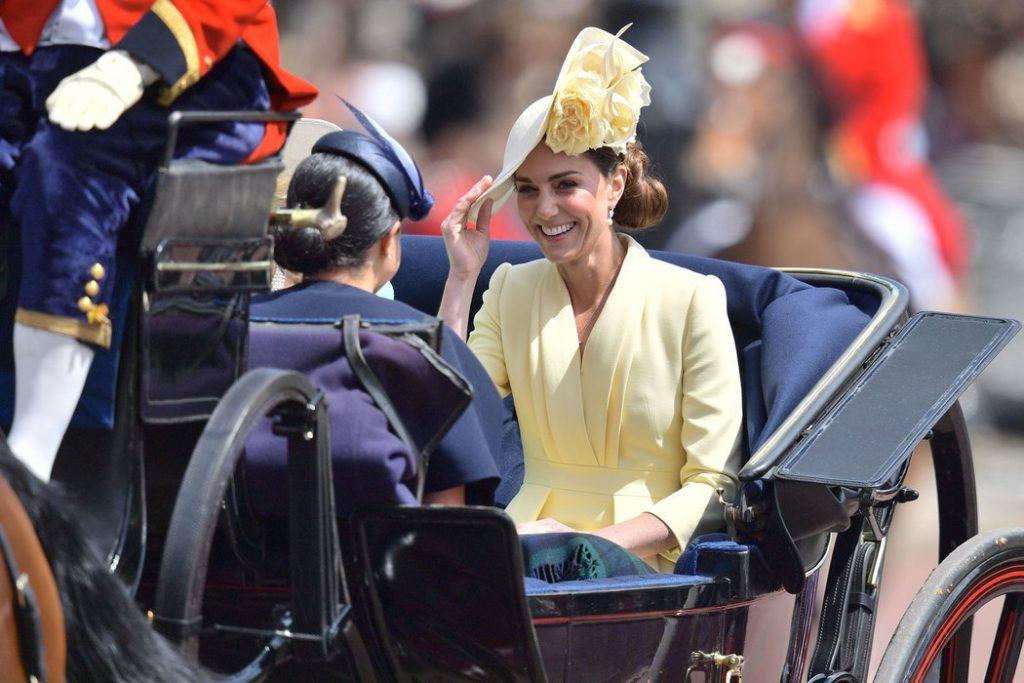 Meghan Markle and Kate Middleton DANIEL LEAL OLIVAS AFP Getty Images