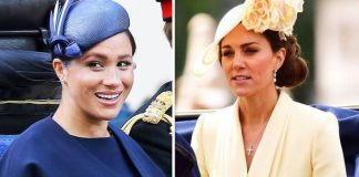 Meghan Markle and Kate at Trooping the Colour Image GETTY