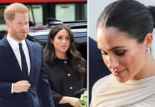 Meghan Markle and Prince Harry have become the targets of a vile website Image GETTY