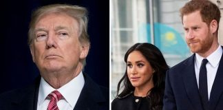 Meghan Markle and Prince Harry have reasons to believe Donald Trump is creepy Image GETTY