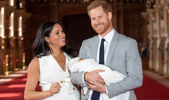 Meghan Markle and Prince Harry welcomed their son Archie on May Image GETTY