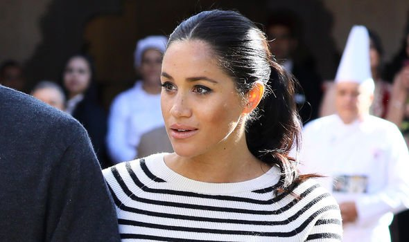 Meghan Markle could make an appearance at the Queens official birthday on Saturday Image GETTY