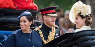 Meghan Markle flaunts incredible new ring at Trooping the Colour is it a push present Photo C GETTY IMAGES