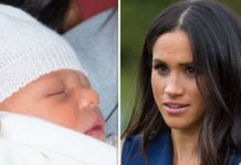 Meghan Markle gave birth to Archie Harrison last month Image GETTY