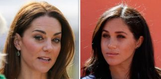 Meghan Markle is allegedly thinking about moving to the US to escape Kate and Williams shadow Image GETTY