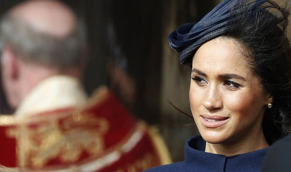Meghan Markle says she dresses for her mood Image GETTY