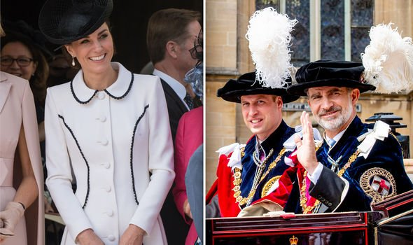 Meghan Markle vs Kate Middleton Kate was there to support William Image GETTY