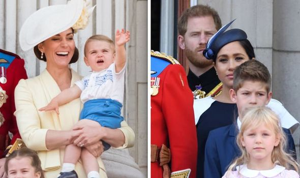 Meghan Markle vs Kate Middleton Meghan and Kate were far apart at Trooping the Colour Image GETTY