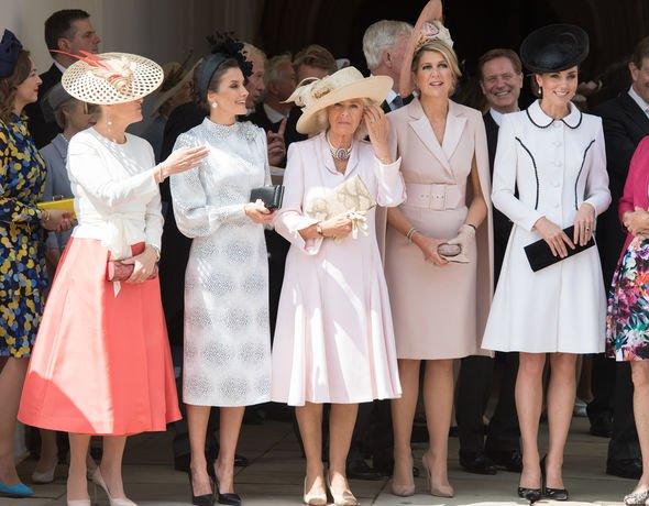 Meghan Markle vs Kate Middleton Senior royals attended but Meghan wasnt among them Image GETTY