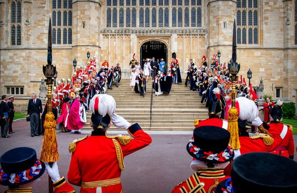 Meghan Markle vs Kate Middleton The lavish ceremony is held every June Image GETTY