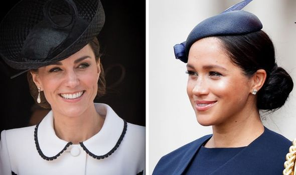 Meghan Markle vs Kate Middleton Why Kate was at Order of the Garter and Meghan WASN'T Image GETTY