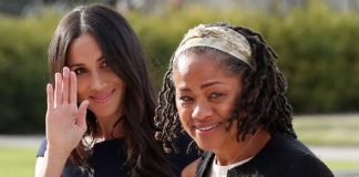 Meghan Markle with her mother Doria Ragland Image GETTY