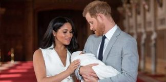 Meghan and Harry could hold a private christening for Archie Image GETTY