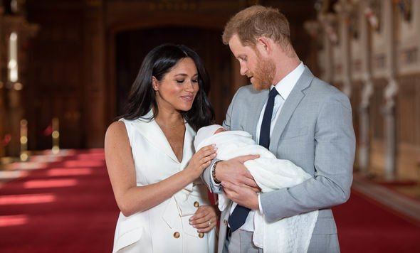 Meghan and Harry have their first fathers day this year Image GETTY