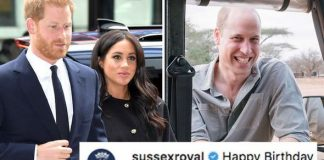 Meghan and Harry upset some royal fans with their birthday comment to William on Instagram Image GETTY•DUKE OF CAMBRIDGE