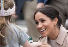 Meghan has met many young fans during walkabouts Image GETTY