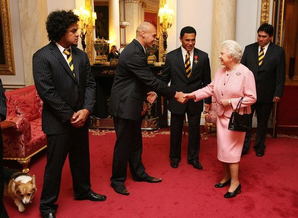 Philip and Queen Elizabeth A Buckingham Palace guest witnessed the prank Image GETTY