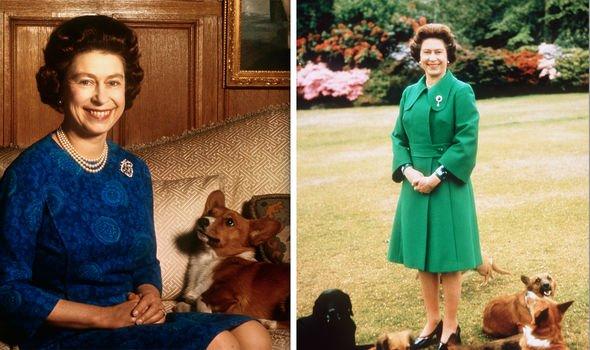 Philip and Queen Elizabeth The Queen loves her corgis Image GETTY
