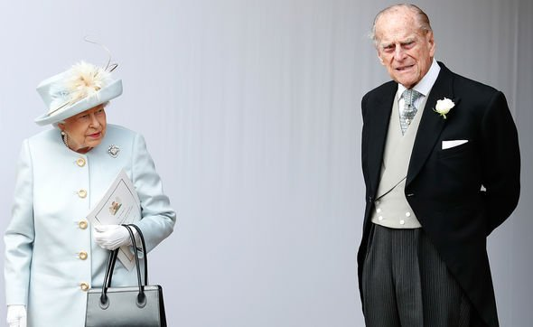 Philip and Queen Elizabeth The Queen was fuming after Philips trick Image GETTY