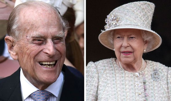Philip and Queen Elizabeth The row was over a prank gone wrong Image GETTY