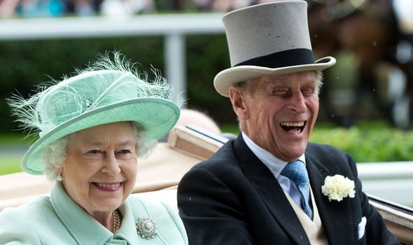 Philip and Queen Elizabeth The royals share a sense of humour Image GETTY
