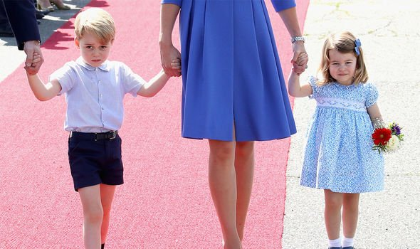 Prince George is also reportedly a volcano and dinosaur fanatic Image GETTY