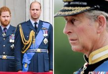 Prince Harry Prince William and Prince Charles Image Getty