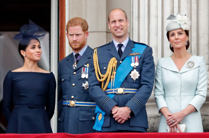 Prince Harry and Meghan Markle have split from the charity they shared with Prince William and Kate Middleton Photo Getty images