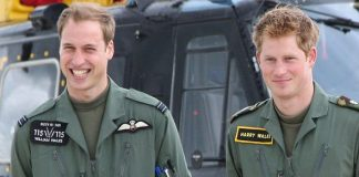 Prince Harry and Prince William trained at the Royal Military Academy in Sandhurst Image GETTY