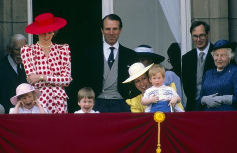 Prince Harry photographed at Trooping the Colour in GETTY IMAGES