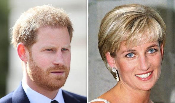 Prince Harry will take on the work Princess Diana never got to finish Image GETTY