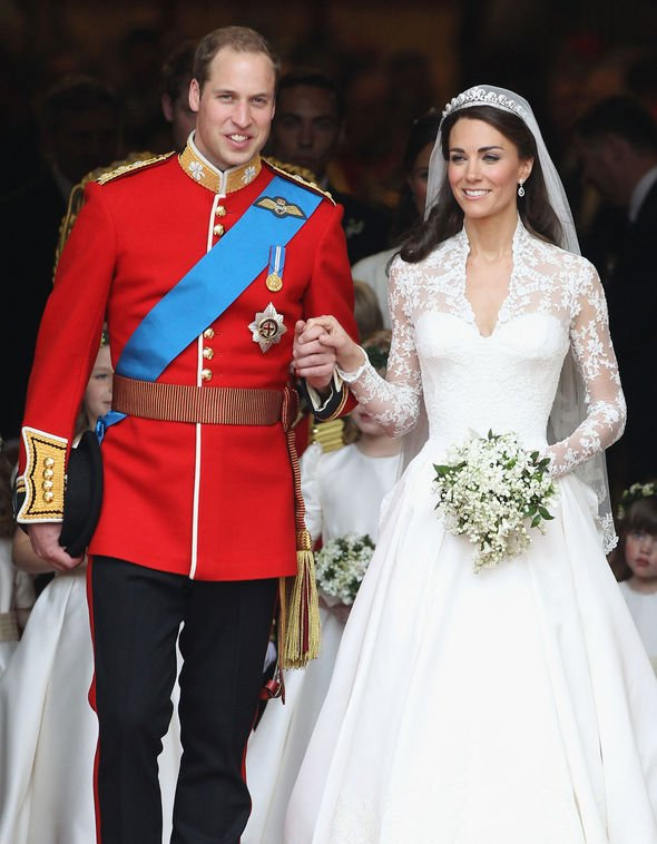 Prince William and Kate Middleton have recently celebrated eight years of marriage Image GETTY
