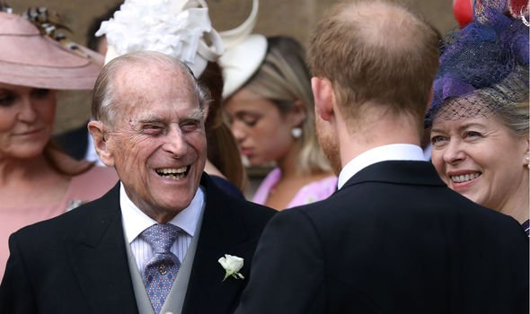 Princes Harry and Philip are said to share a close bond Image GETTY