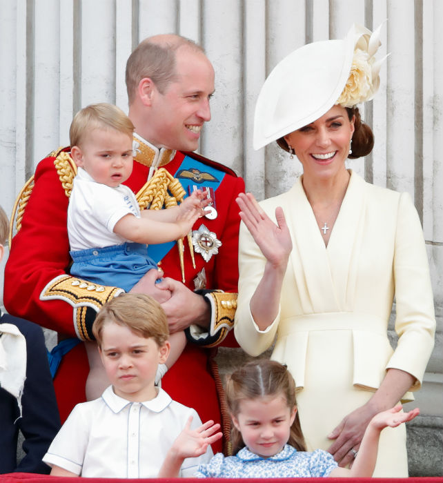 Princess Charlotte is looking forward to starting school in September Photo C GETTY IMAGES