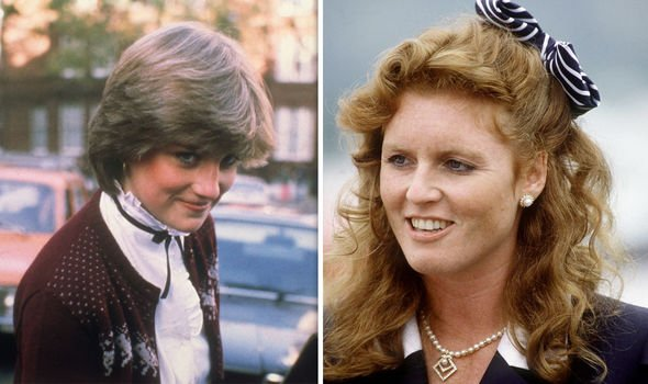 Princess Diana and Sarah Ferguson did not have such a careful introduction to royal life Image Getty