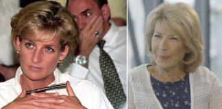 Princess Diana in and Jennie Bond speaking on Yahoo UKs The Royal Box Photo PA Yahoo UK