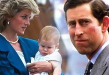 Princess Diana was not impressed when Prince Charles made a joke at Harrys christening Image GETTY