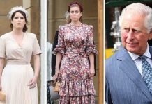 Princess Eugenie Princess Beatrice and Prince Charles Image Getty