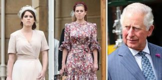 Princess Eugenie Princess Beatrice and Prince Charles Image Getty