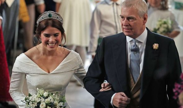 Princess Eugenie marked Father's Day with a touching message to her dad Prince Andrew Image GETTY
