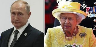 Queen Elizabeth II once took sly swipe at Vladimir Putin Image GETTY