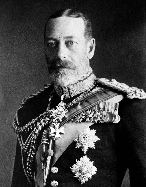 Queen family tree King George V Queen Elizabeths grandfather Image GETTY