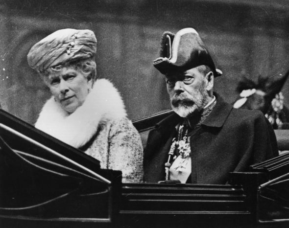 Queen family tree King George V and Queen Mary Image GETTY