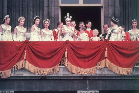 Queen family tree Queen Elizabeths coronation in Image GETTY