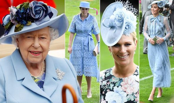 Royal Ascot The Queen Kate Middleton Princess Eugenie Zara Tindall all wore blue Image Pa REX REUTERS AFP