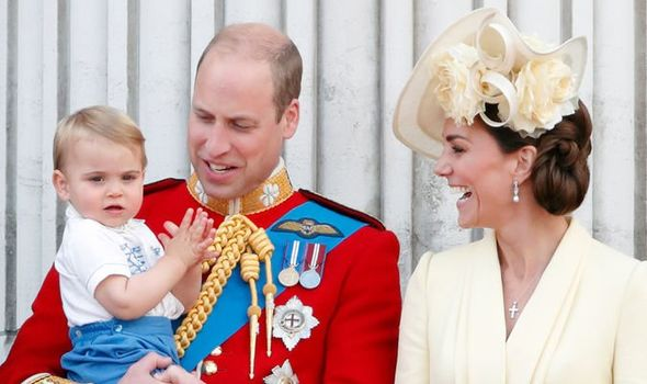 Royal news Kate forced to intervene during Troop of Colour Image GETTY